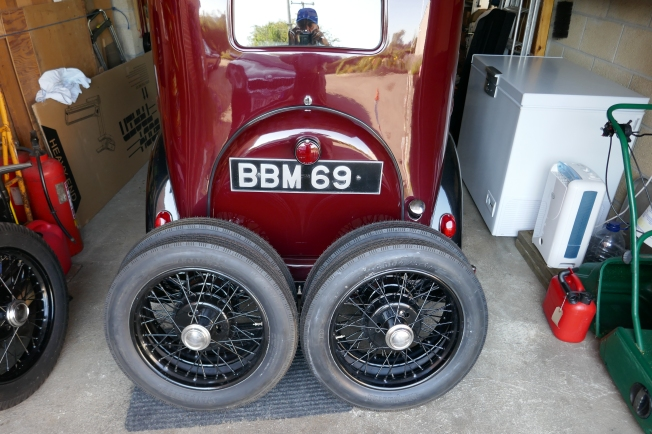 4 NEW TYRES FITTED