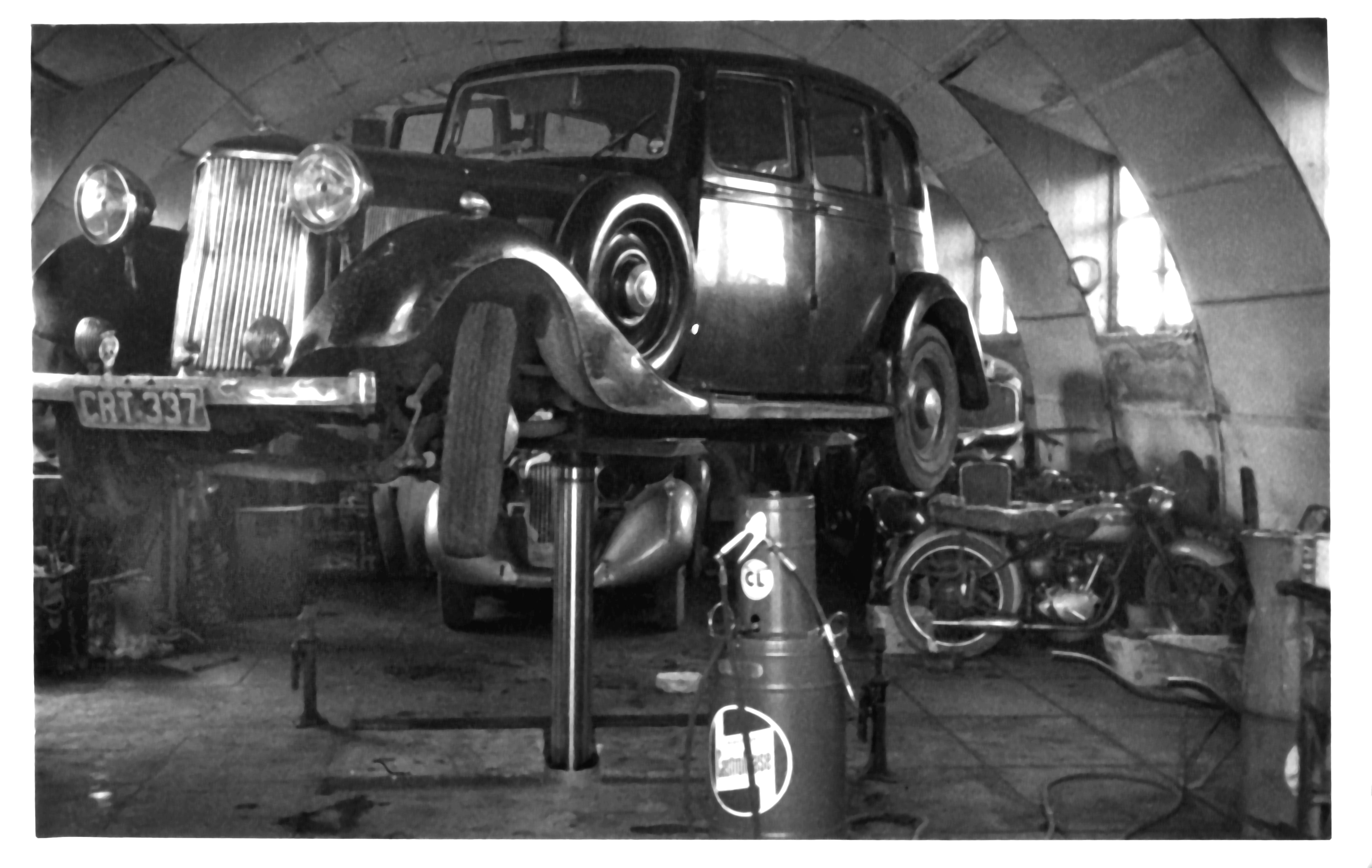 Monty's garage Spinney Stowlangtoft